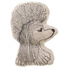 Coral & Tusk - Poodle Embroidered Linen Pal