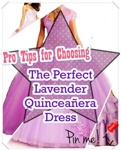 Lavender Quinceanera dress - The biggest element of the quinceanera for a girl turning fifteen will be the dress! The best quinceanera dress makes the birthday girl feel like princess. Lavender Quinceanera Dresses, Quince Dresses, Different Patterns, Dress Making, Girl Birthday, Cute Dresses, Aurora Sleeping Beauty, Stylists, Feminine