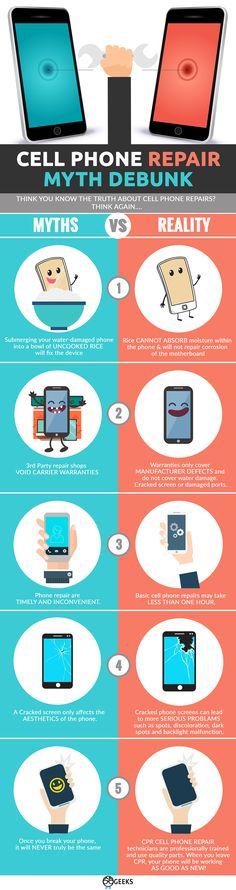 GEEKS - Cell Phone Repair - Myth Debunk