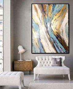 Tableau peinture abstrait Acrylique Véritable peinture sur