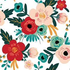 Poppy Floral Peel and Stick Wallpaper