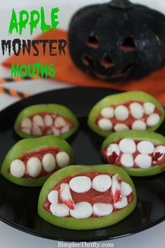 Looking for a Halloween Treat that will be a hit? We have one for you that will be fun for all ages. Check out the Apple Monster Mouths!