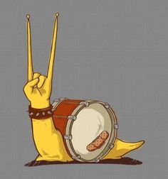 Epic Snail by Meytal Cohen \m/^_^\m/