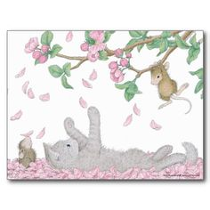 """House-Mouse Designs® Postcard - This product was recently purchased off from our """"House-Mouse Designs® Boutique Shop on Zazzle"""". Click on the image for more information."""