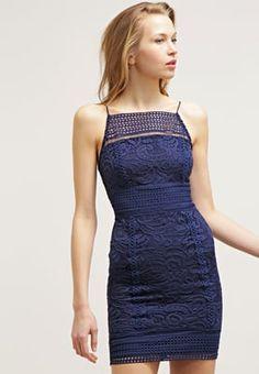 In diesem Kleid machst du eine gute Figur. Topshop Freizeitkleid - blue für 49,95 € (18.04.16) versandkostenfrei bei Zalando bestellen.