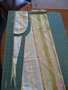 """ocd: obsessive crafting disorder: Pillowcase dress tutorial- Style 2: """"Party Girl"""""""