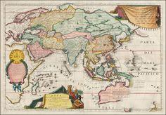 Asia Divisa nelle sue Parti secondo lo stato presente - Barry Lawrence Ruderman Antique Maps Inc.