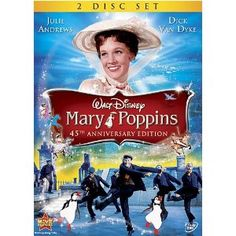 Mary Poppins- another childhood favorite.  I will be watching this soon with my grandchildren.