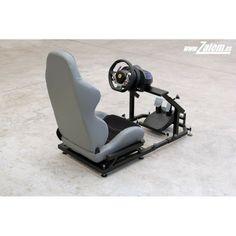 Gamer Chair, Racing Simulator, Video Game Rooms, Racing Seats, Rigs, Diy Ideas, Games, Design, Funny Animals