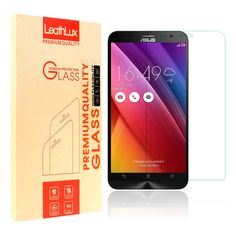 """Screen Protector for Zenfone 3 ZE520KL, Leathlux [0.26mm] Ultra Thin Tempered Glass Film 9H Hardness HD Clear Toughened Glass Screen Cover for Asus Zenfone 3 ZE520KL 5.2"""" -- Awesome products selected by Anna Churchill"""