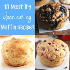 13 Must Try Clean Eating Muffin Recipes