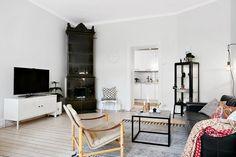 Kök och vardagsrum i fil