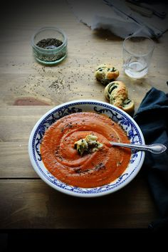 Red Lentil & Carrot Soup with Cinnamon, Turmeric & Chilli