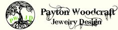 beautiful jewelry - check out her website, www.paytonwoodcraft.com
