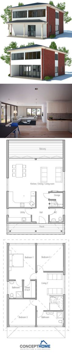 Prefab home plan, Modular House design