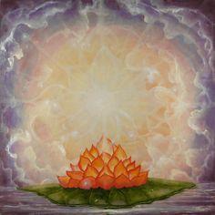 Spiritual Mandala Paintings by Cynthia Rose Young Meditation Images, Goth Music, Pink Lotus, Lotus Flower, Fifth Element, Mandala Painting, Archetypes, Faeries, Feng Shui
