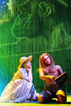 Disney on Broadway - Jane and Tarzan. Josh is so amazing