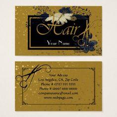 Hair salon Business Card - hair salon gifts customize personalize ideas diy