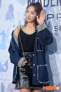 Park Shin Hye in CHANEL Mademoiselle Prive Exhibition in Seoul 