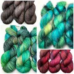 Hand-dyed luxury yarn for your beautiful knitting and crochet projects. Colourful hanks, sumptuous bases, get ready to stitch something gorgeous! Yarn Shop, Creative Outlet, Hand Dyed Yarn, Food Coloring, Weekend Is Over, Crochet Projects, Peeps, Pattern Design, Knit Crochet