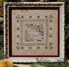 Snow Ptarmigan - Cross Stitch Pattern