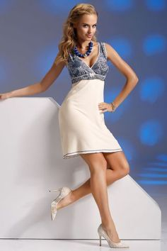 Donna Lace Trim Crossover Babydoll