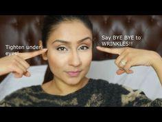 ▶ Get rid of Under eye wrinkles facial exercise || Raji Osahn - YouTube