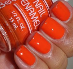 Bettina Nail Enamel Art Deco Collection - Orange