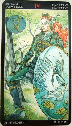 manga tarot cards - The Empress