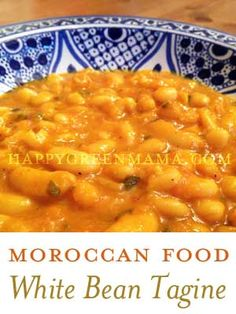 Moroccan Food: White Bean Tagine {Loubia}