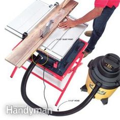<p>You don't have to shell out the big bucks for a central dust collection system. We'll show you how to use a shop vacuum coupled with a few accessories to capture dust. We'll also show how to assemble a simple, inexpensive dust control system that'll suck up most sawdust.</p>