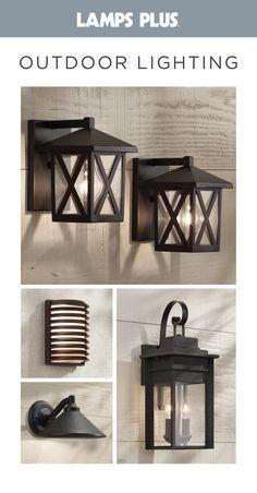Outdoor Lighting Fixtures Diy Porches 55 New Ideas Exterior Light Fixtures, Farmhouse Light Fixtures, Outdoor Light Fixtures, Farmhouse Lighting, Exterior Lighting, Farmhouse Decor, Farmhouse Ideas, Farmhouse Style, Garage Lighting