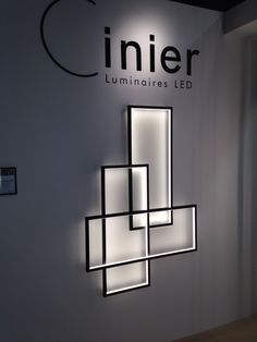 Cinier Trio Led. Wall lamp. Made in France.