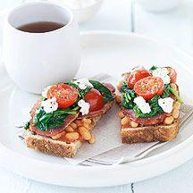 Englisches Frühstückstoast