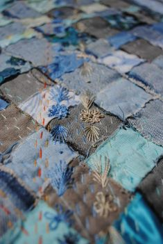 1000 Images About Stitched Boro Sashiko On Pinterest