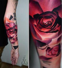 Timur Lysenko tattoo