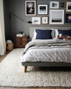 Hey, @chrislovesjulia, we love your bedroom!  #mywestelm