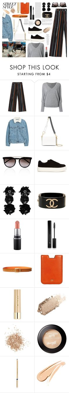 """""""Senza titolo #7114"""" by waikiki24 ❤ liked on Polyvore featuring N.Peal, Diane Von Furstenberg, Calvin Klein, Eytys, Chanel, Forever 21, Lauren Ralph Lauren, Tom Ford, Stila and Chantecaille"""