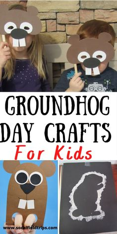 Are you teaching about Groundhog Day in your classroom or homeschool?  This list of 13 Easy Groundhog Day Crafts for Kids will compliment any lesson! They are perfect daycare centers, toddlers, preschoolers and early elementary school students. #groundhogday #kidcraft #groundhogcraft #preschoolcraft #toddlercraft #kidfriendly #daycarecraft #toddlercraft #preschoolart #kidsart #artproject #wintercraft #springcraft #digy