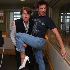 That awkward moment when John Barrowman looks better in heels than you do.