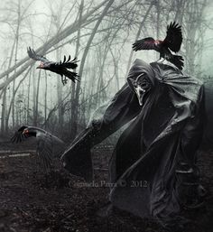 The Spirits of Ravens by Aeternum-Art on DeviantArt