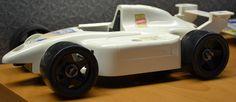 Vintage Playskool 1995 Cool Tools Racing Nascar Car 4 by Hasbro No 3794