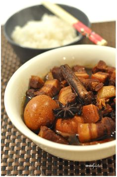 An Aussie friend of mine once asked me about my heritage and I mentioned that I hailed from a long (and very distant) line of Chinese migrants from Fujian. Of which my Chinese dialect would be Hokk… Pork Belly Recipes, Beef Recipes, Cooking Recipes, Cooking 101, Cooking Wine, Fruit Recipes, Entree Recipes, Asian Recipes, Chinese Recipes