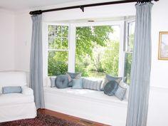 ¿Qué cortinas usar en ventanas irregulares