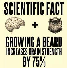 SCIENTIFIC FACT: Big Beard = Big Braind From Beardoholic.com