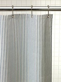 Fabric Shower Curtains | Cotton