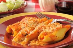 Italian Recipe: Stuffed Shells with Spinach and Ricotta