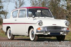 1965 Ford Anglia Sportsman (sold or no longer on the market) - PreWarCar Cars Uk, All Cars, Vintage Cars, Antique Cars, Ford Anglia, Car Pictures, Car Pics, Ford Shelby, Hot Rides