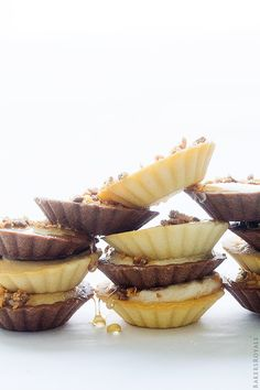 Peanut Butter  and Honey Mini Tarts