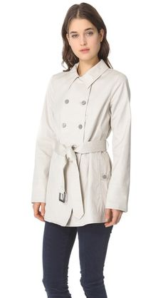 Marc by Marc Jacobs Trevor Trench Coat With Belt